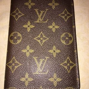 LV VINTAGE PASSPORT/ PHOTO WALLET